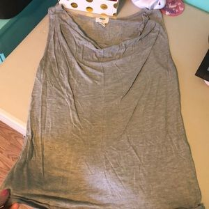 Old navy draped neck top
